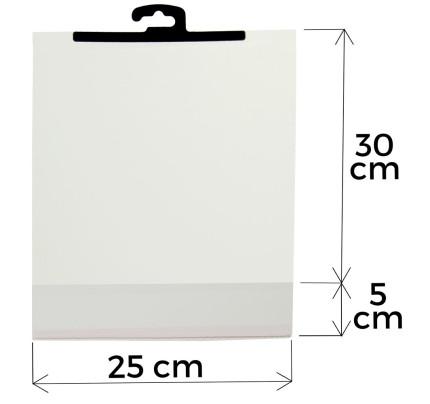 Sáček s ramínkem a lepící klopou 25 cm x 30 cm (20 ks bal d4fc8d86a69