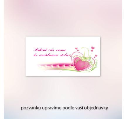 cea2bfb0829d Pozvánka ke svatebnímu stolu LOTOS
